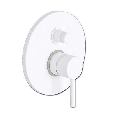 EURORAMA TONDA WHITE MATT 145030