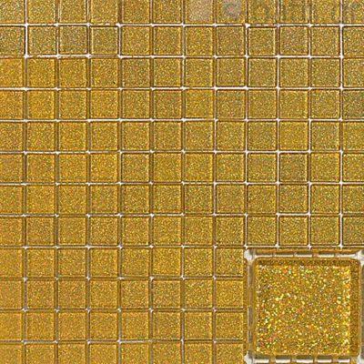 GOLDEN BLUE - IRIDA mosaico gialo