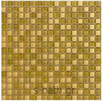 GOLDEN BLUE - ENJOY MIX mosaico χρυσό