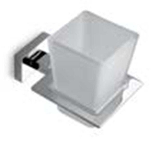 COLOMBO 76058 - Ποτηροθήκη μπάνιου τοίχου χρωμέ