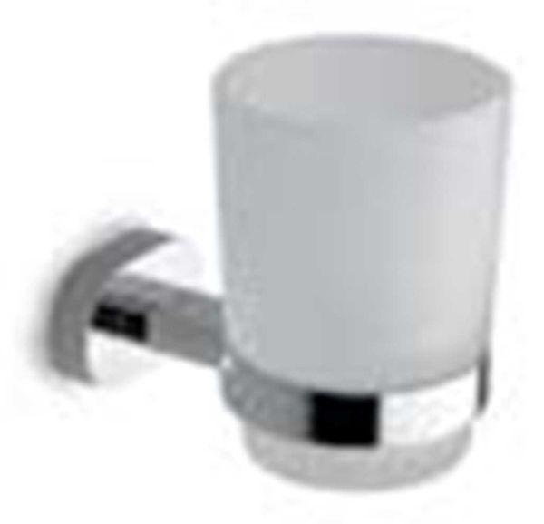 OVALE 75058 - Χαρτοθήκη μπάνιου κλειστή χρωμέ
