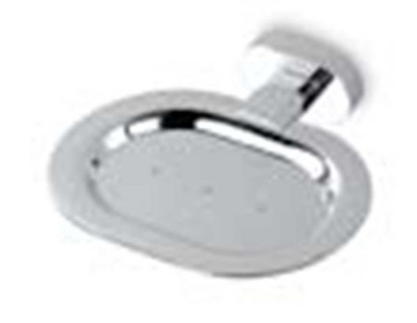 OVALE 75059A - Σπουνοθήκη μπάνιου τοίχου χρωμέ