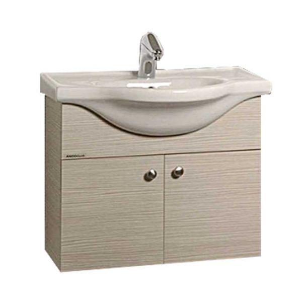Έπιπλο μπάνιου ELLI-65-BASE κρεμαστό πλήρες