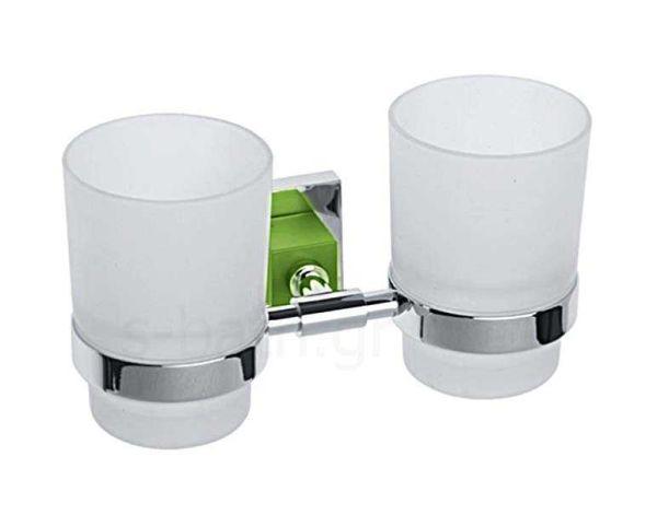 Αξεσουάρ μπάνιου ANNIE - Ποτηροθήκη μπάνιου διπλή