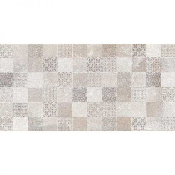 BIEN HERMES GRIS DECOR 30x60 - Πλακάκι μπάνιου γκρι