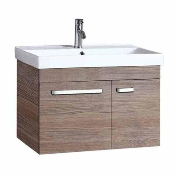 Έπιπλο μπάνιου IDEA-75 κρεμαστό μόκα
