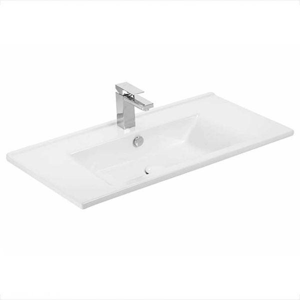 DROP SORRENTO 85 GRAPHITE - Νιπτήρας μπάνιου