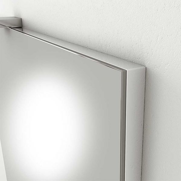 DROP SORRENTO 85 GRAPHITE - Καθρέπτης μπάνιου