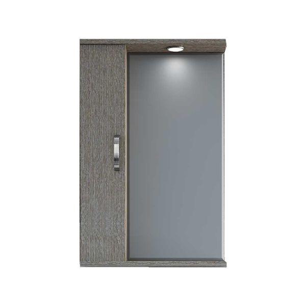 DROP MILITOS 50 BROWN ΚΑΘΡΕΠΤΗΣ - Ντουλάπι μπάνιου με καθρέπτη