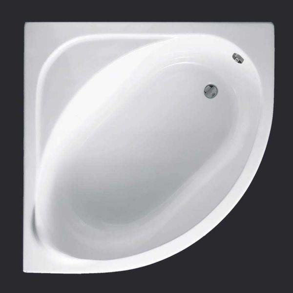 Μπανιέρα γωνιακή ELIXIS ακρυλική
