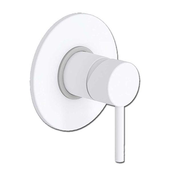 EURORAMA TONDA WHITE MATT 145055- Εντοιχιζόμενη μπαταρία ντους