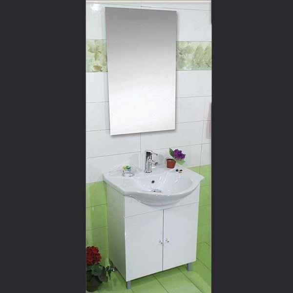 Έπιπλο μπάνιου FIRENZE-50 δαπέδου λευκό