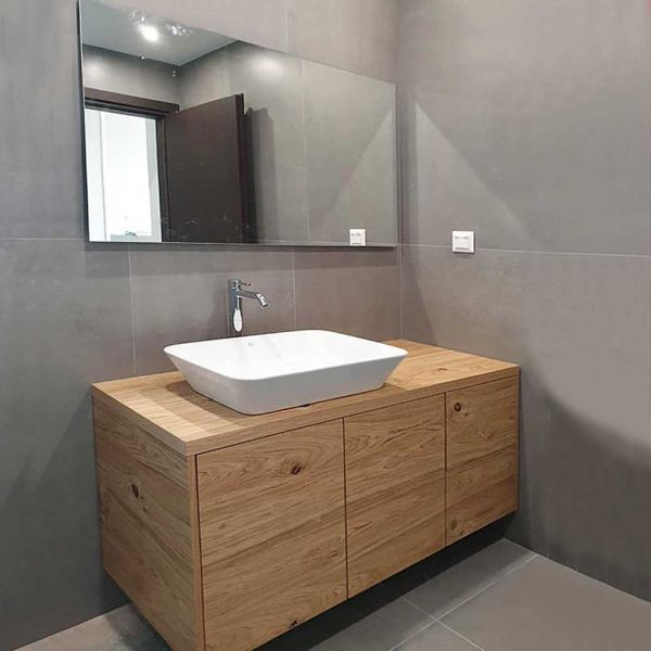 Έπιπλο μπάνιου FORBES-100 κρεμαστό με νιπτήρα