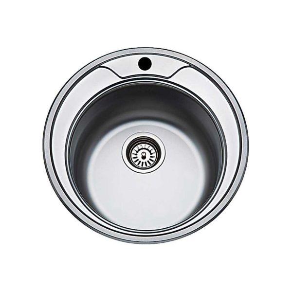FORTINOX VALLEY 25900 - Νεροχύτης κουζίνας inox με 1 γούρνα