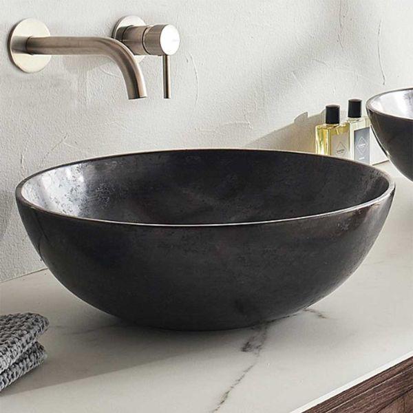FOSSIL CIREO 45 BLACK - Νιπτήρας μπάνιου μάρμαρο