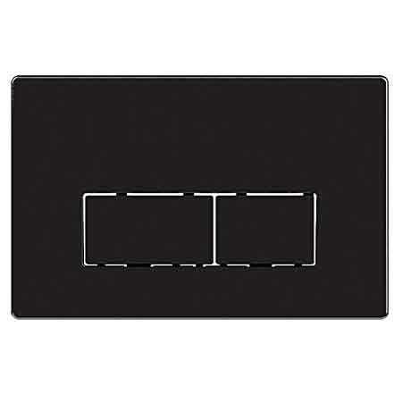 KARAG P45-0180 - Πλάκα διπλής ενεργοποίησης μαύρο ματ