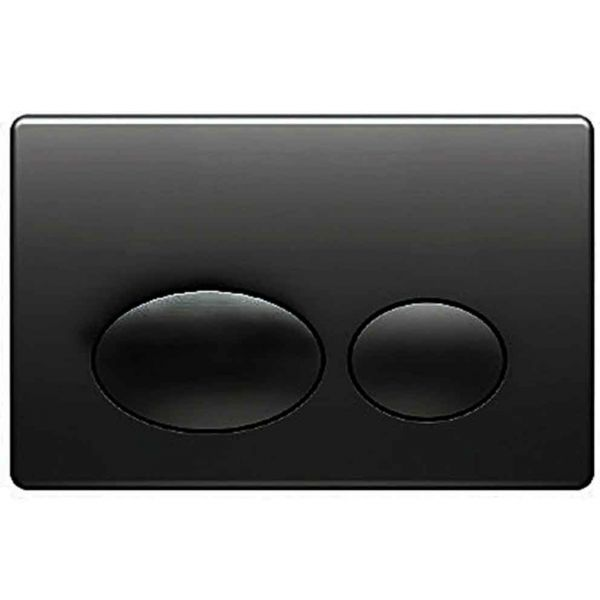 KARAG P61-0190 - Πλάκα διπλής ενεργοποίησης μαύρο ματ