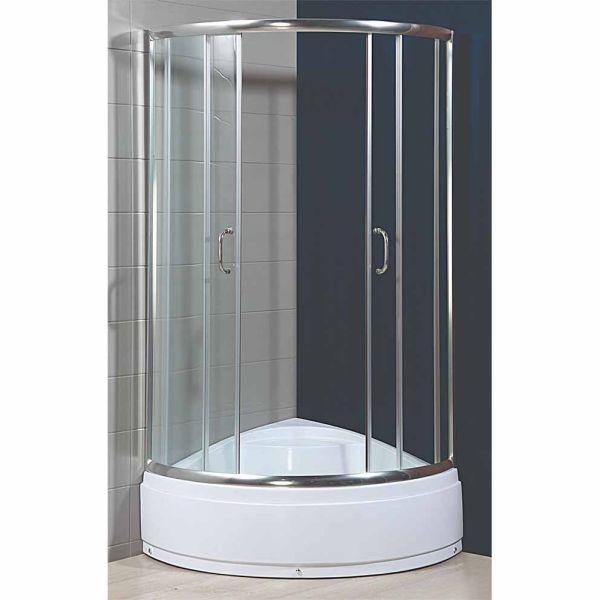 Καμπίνα μπάνιου METZO-100 σετ με ντουζιέρα