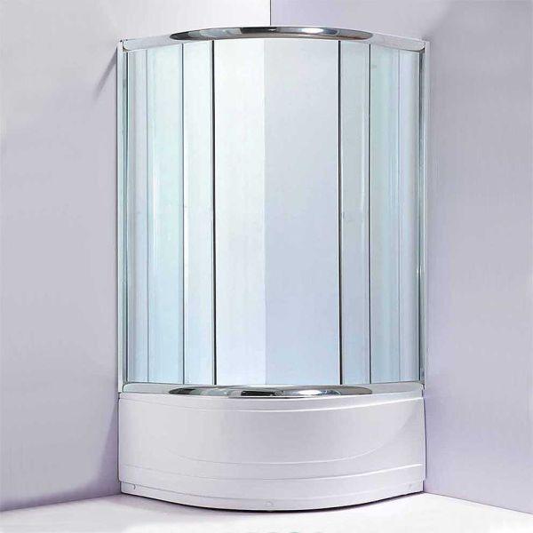 Καμπίνα μπάνιου NOTA-90 διαφανές σετ με ντουζιέρα