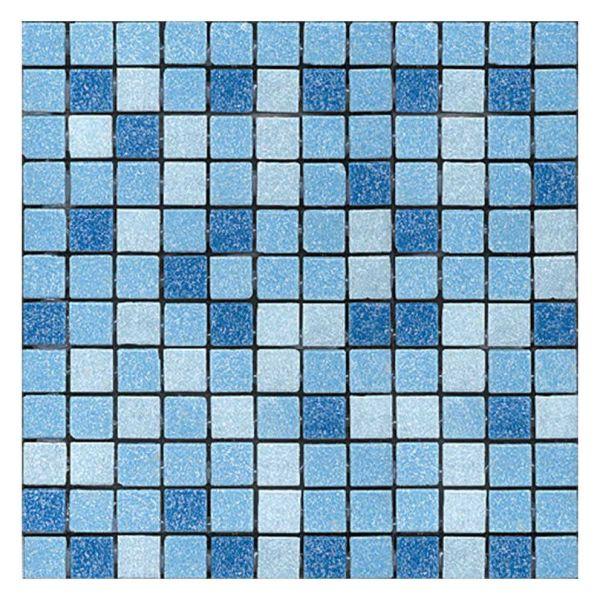 GOLDEN BLUE BARACUNDA CIEL BLUE - Ψηφίδα - Πλακάκι πισίνας ματ 31x46