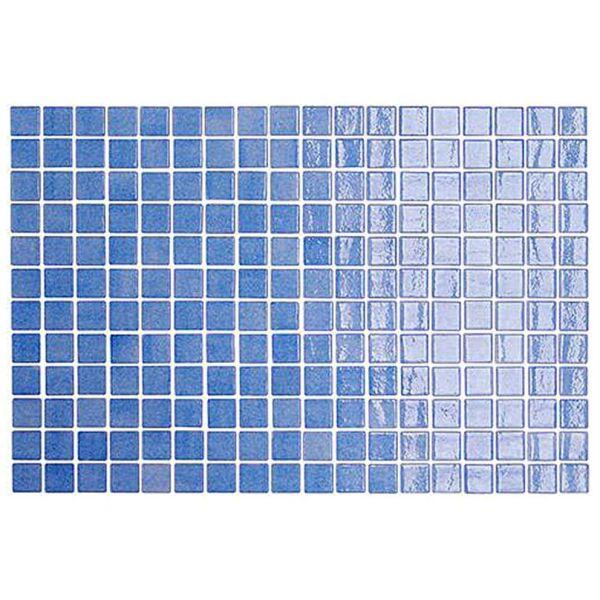 GOLDEN BLUE POOL MOSAICO AZUL CELESTE - Ψηφίδα - Πλακάκι πισίνας γυαλιστερό 31x46