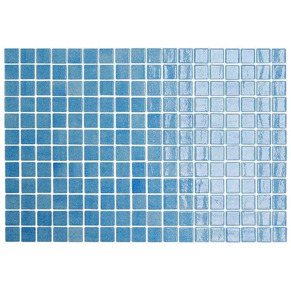 GOLDEN BLUE POOL MOSAICO AZUL CLARO - Ψηφίδα - Πλακάκι πισίνας γυαλιστερό 31x46