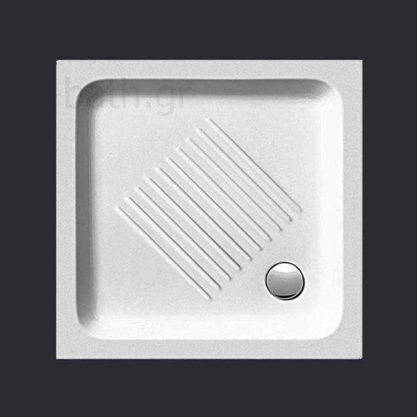 GSI BASIC 4370 - Ντουζιέρα μπάνιου ορθογώνια
