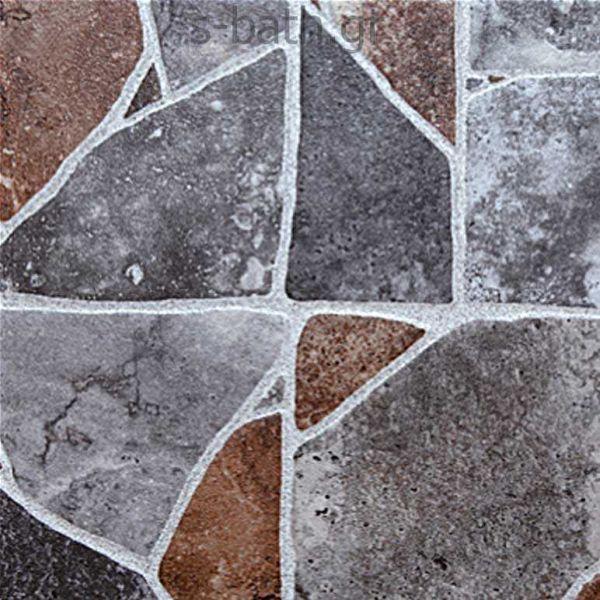 GOLDEN BLUE IKARIA GREY - Πλακάκι δαπέδου πέτρα 33x33