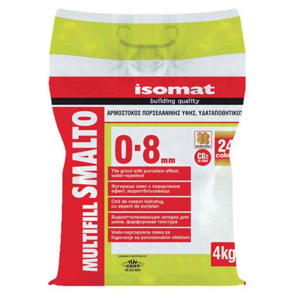 ISOMAT SMALTO αρμός λευκό - Αρμόστοκος πλακιδίων πορσελανάτος