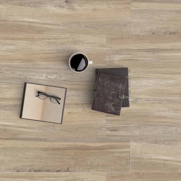 KARAG BALTIMORE 15x60 BEIGE - Πλακάκι δαπέδου τύπου ξύλο