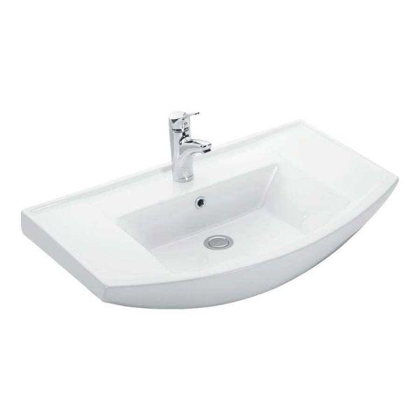 KARAG BIANNA 4843 - Νιπτήρας μπάνιου τοίχου/επίπλου