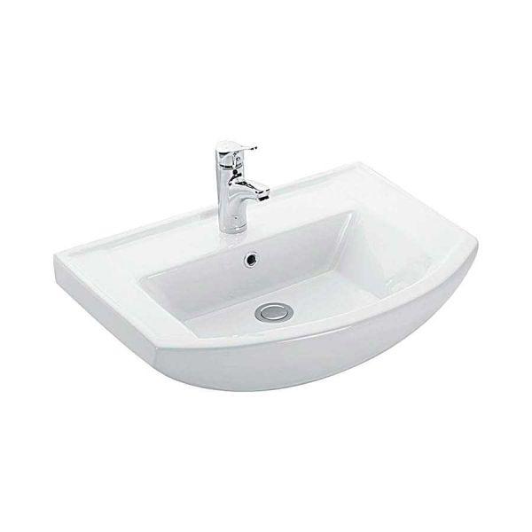 KARAG BIANNA 4844 - Νιπτήρας μπάνιου τοίχου/επίπλου