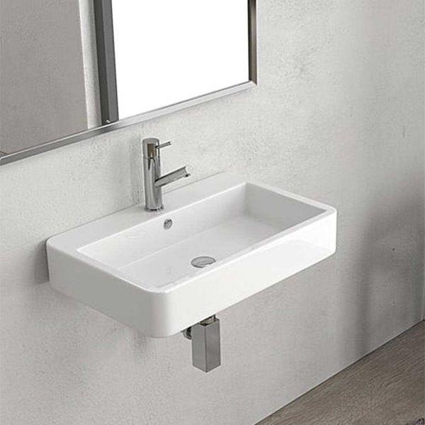 KARAG CONTOUR 61060 - Νιπτήρας μπάνιου τοίχου