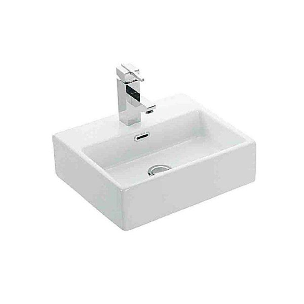 KARAG DAPHNE 53708 - Νιπτήρας μπάνιου τοίχου/επίπλου