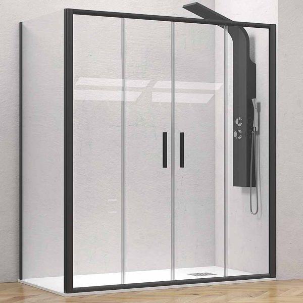 Καμπίνα μπάνιου EFE-600-SPECIAL ντουζιέρας μαύρο