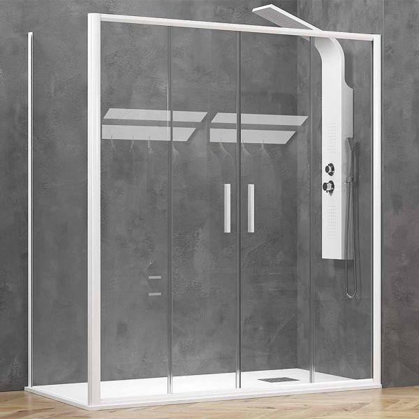 Καμπίνα μπάνιου EFE-600 ντουζιέρας λευκό