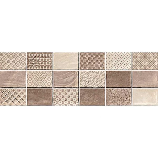 KARAG FABRIC MOSAICO CREMA 20x60 - Πλακάκι μπάνιου τοίχου διακοσμητικό