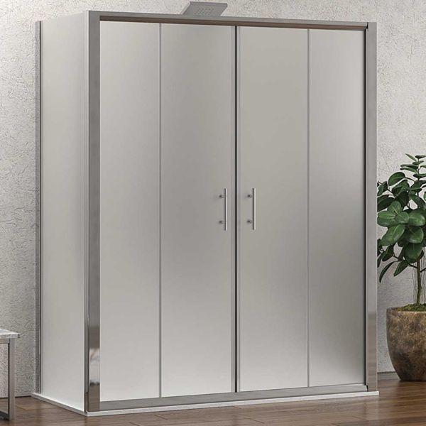 KARAG FLORA 600 SPECIAL - Καμπίνα μπάνιου τοίχο-τοίχο - αμμοβολή