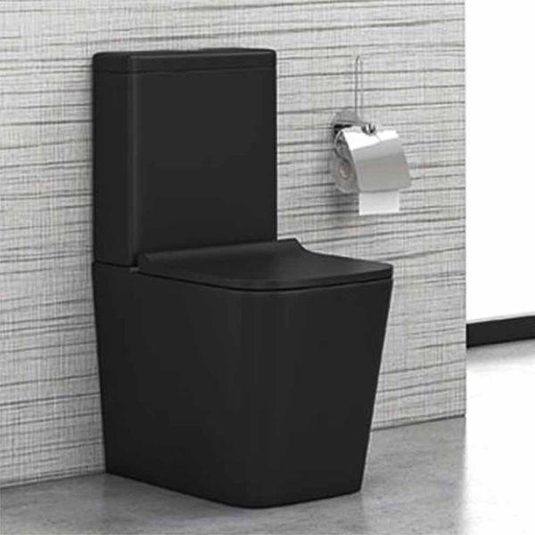 KARAG IOS A2175A RMB - Λεκάνη μπάνιου πλήρης μαύρο