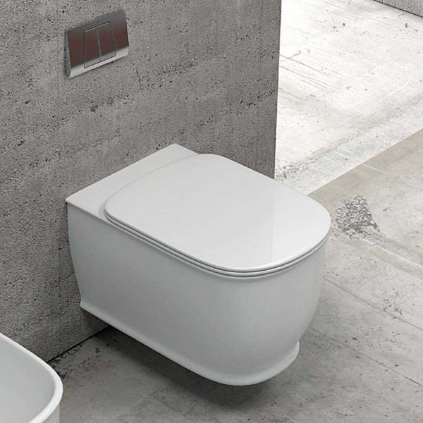 GENESIS RIMLESS - Λεκάνη μπάνιου κρεμαστή