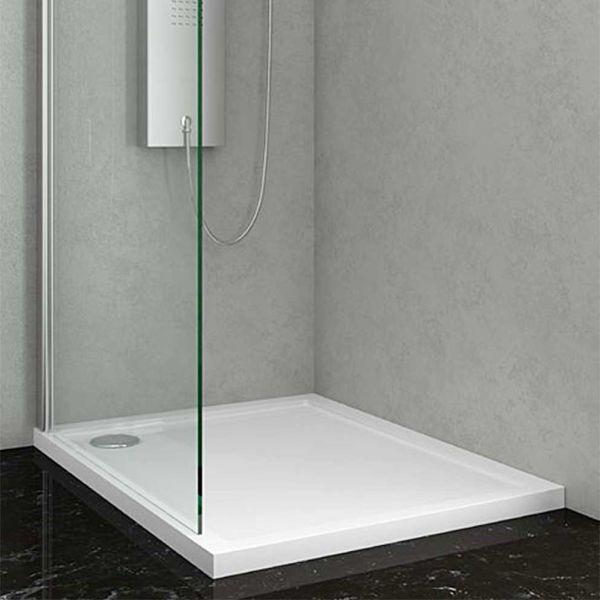KARAG NEW-FLAT 75-90 - Ντουζιέρα μπάνιου ακρυλική λεπτή