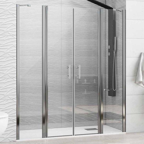 Καμπίνα μπάνιου PANEX 700 CLEAR ανοιγόμενη