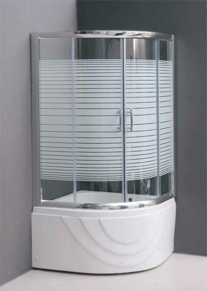 Σετ μπανιέρα και καμπίνα μπάνιου KARYSTOS-100