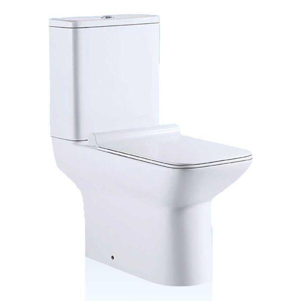 KERAFINA LOTUS - Λεκάνη μπάνιου με καζανάκι & κάλυμμα soft-close