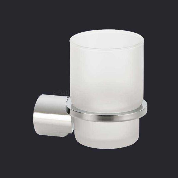 Αξεσουάρ μπάνιου VERDI LAMDA- Ποτηροθήκη μπάνιου τοίχου