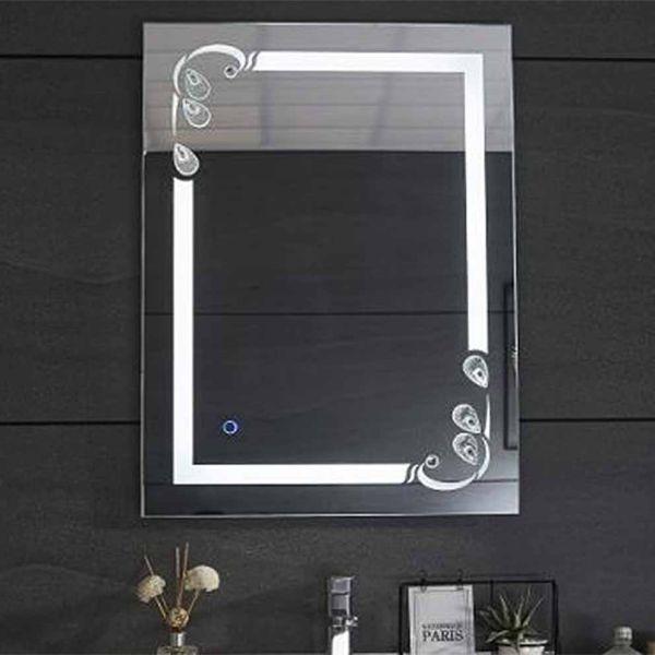 Καθρέπτης μπάνιου LOLITA-60 ορθογώνιος με led