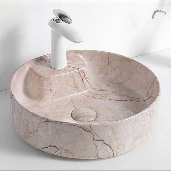 Νιπτήρας μπάνιου MAMBO επιτραπέζιος μπεζ