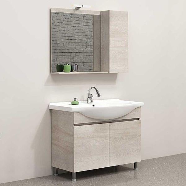 Έπιπλο μπάνιου MANSION-100 δαπέδου κόντρα πλακέ
