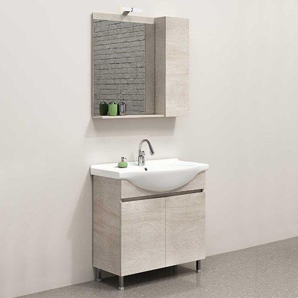 Έπιπλο μπάνιου MANSION-60 δαπέδου κόντρα πλακέ