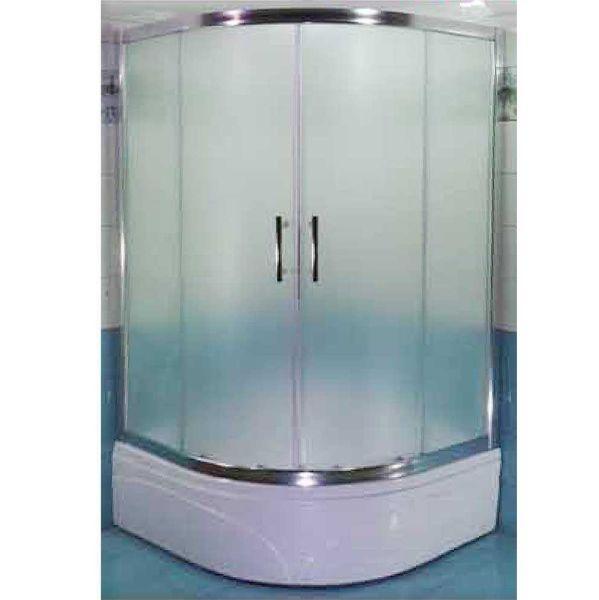 Καμπίνα μπάνιου METZO-90 ματ σετ με ντουζιέρα